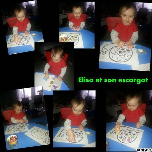 Le petit escargot d 39 elisa centerblog - Toto l escargot ...